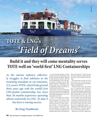 Maritime Reporter Magazine, page 30,  Oct 2018
