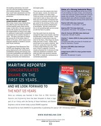 Maritime Reporter Magazine, page 63,  Oct 2018