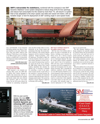 Maritime Reporter Magazine, page 87,  Oct 2018