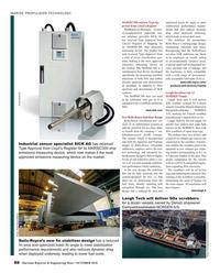 Maritime Reporter Magazine, page 88,  Oct 2018