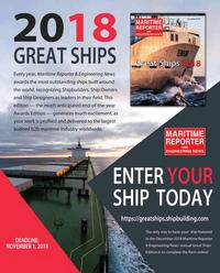 Maritime Reporter Magazine, page 89,  Oct 2018