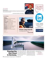 Maritime Reporter Magazine, page 8,  Nov 2018