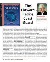 Maritime Reporter Magazine, page 10,  Nov 2018