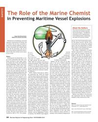 Maritime Reporter Magazine, page 16,  Nov 2018