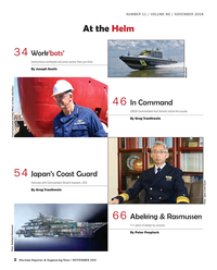 Maritime Reporter Magazine, page 2,  Nov 2018