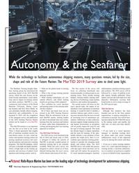 Maritime Reporter Magazine, page 42,  Nov 2018