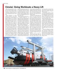 Maritime Reporter Magazine, page 80,  Nov 2018