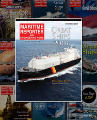Maritime Reporter Magazine, page 27,  Dec 2018
