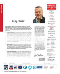 Maritime Reporter Magazine, page 6,  Dec 2018