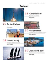 Maritime Reporter Magazine, page 2,  Jan 2019