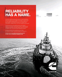 Maritime Reporter Magazine, page 4th Cover,  Jan 2019