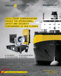Maritime Reporter Magazine, page 2nd Cover,  Feb 2019