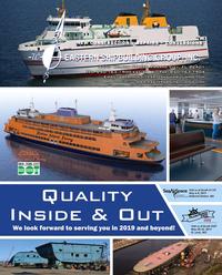 Maritime Reporter Magazine, page 1,  Feb 2019