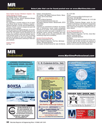 Maritime Reporter Magazine, page 60,  Feb 2019