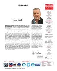 Maritime Reporter Magazine, page 6,  Feb 2019