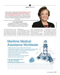 Maritime Reporter Magazine, page 13,  Mar 2019