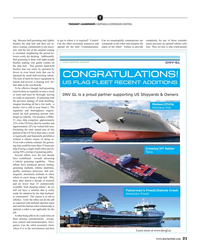 Maritime Reporter Magazine, page 21,  Mar 2019