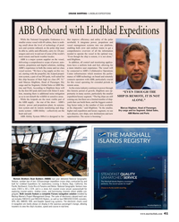 Maritime Reporter Magazine, page 41,  Mar 2019
