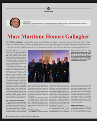 Maritime Reporter Magazine, page 8,  Apr 2019
