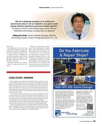 Maritime Reporter Magazine, page 35,  Apr 2019