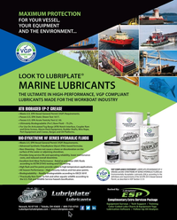 Maritime Reporter Magazine, page 2nd Cover,  May 2019