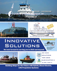 Maritime Reporter Magazine, page 19,  May 2019