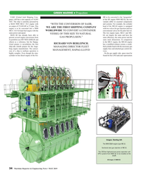 Maritime Reporter Magazine, page 34,  May 2019