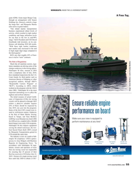 Maritime Reporter Magazine, page 55,  May 2019