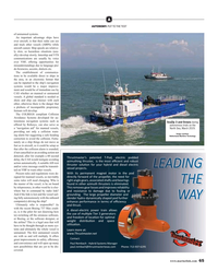 Maritime Reporter Magazine, page 65,  May 2019