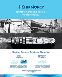 Maritime Reporter Magazine, page 2nd Cover,  Jun 2019