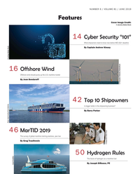 Maritime Reporter Magazine, page 2,  Jun 2019