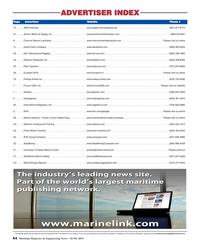 Maritime Reporter Magazine, page 64,  Jun 2019