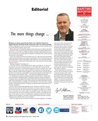 Maritime Reporter Magazine, page 6,  Jun 2019