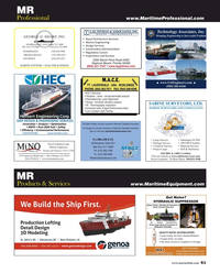 Maritime Reporter Magazine, page 61,  Jul 2019