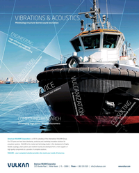 Maritime Reporter Magazine, page 2nd Cover,  Aug 2019