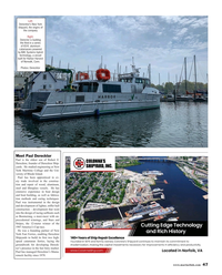 Maritime Reporter Magazine, page 47,  Aug 2019