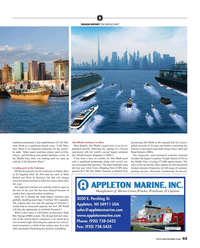 Maritime Reporter Magazine, page 65,  Aug 2019