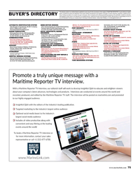 Maritime Reporter Magazine, page 75,  Aug 2019