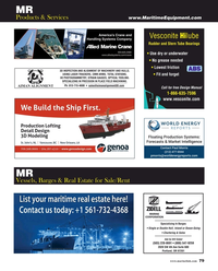 Maritime Reporter Magazine, page 79,  Aug 2019