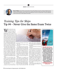Maritime Reporter Magazine, page 8,  Sep 2019