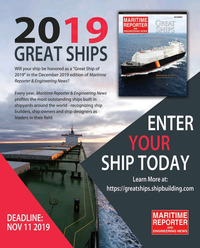 Maritime Reporter Magazine, page 42,  Sep 2019