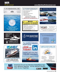 Maritime Reporter Magazine, page 61,  Sep 2019