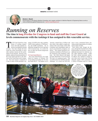 Maritime Reporter Magazine, page 10,  Oct 2019