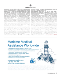 Maritime Reporter Magazine, page 19,  Oct 2019