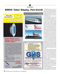 Maritime Reporter Magazine, page 20,  Oct 2019