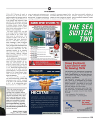 Maritime Reporter Magazine, page 23,  Oct 2019