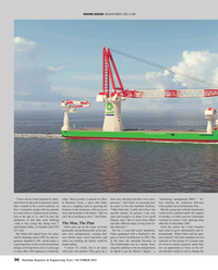 Maritime Reporter Magazine, page 36,  Oct 2019