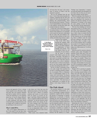 Maritime Reporter Magazine, page 37,  Oct 2019