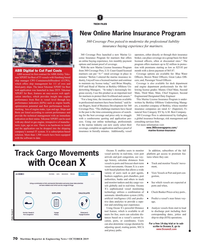Maritime Reporter Magazine, page 70,  Oct 2019