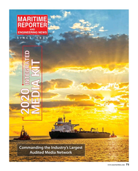 Maritime Reporter Magazine, page 71,  Oct 2019